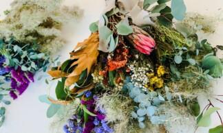 ワークショップのお知らせ ー Four Seasons 【花と瞑想】/ Shabby Autumn